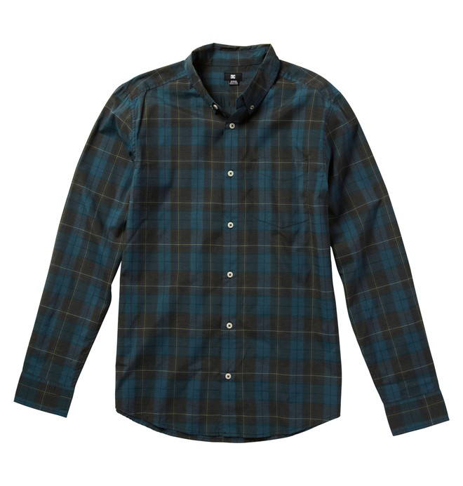 0 Men's Dharma LS Shirts  ADYWT00026 DC Shoes