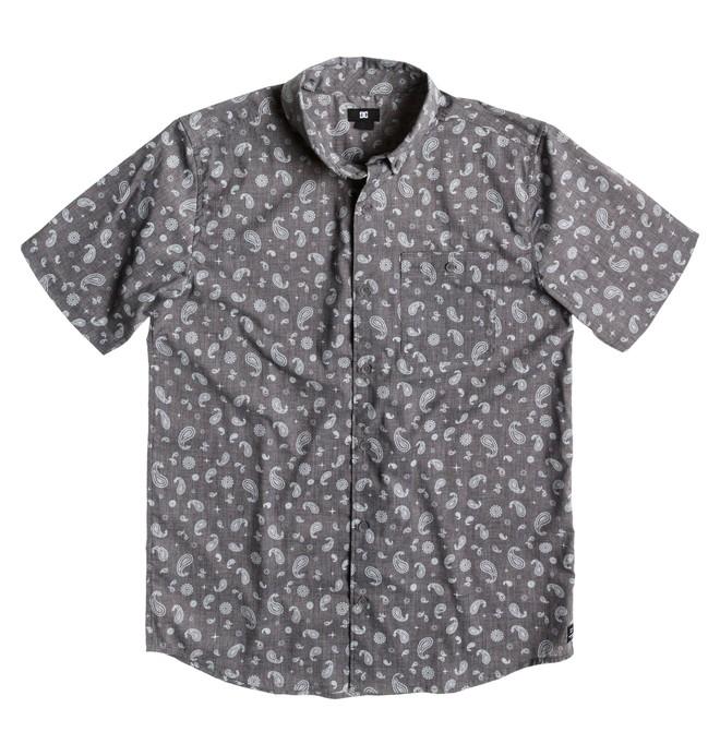 0 Men's Hammer SS Shirt Black ADYWT00054 DC Shoes