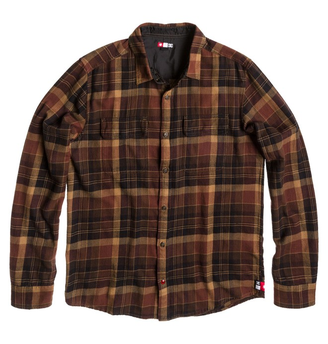 0 Men's Dirtball Flannel Shirt  ADYWT00059 DC Shoes