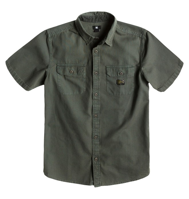 0 Men's Penzance SS Shirt  ADYWT00067 DC Shoes