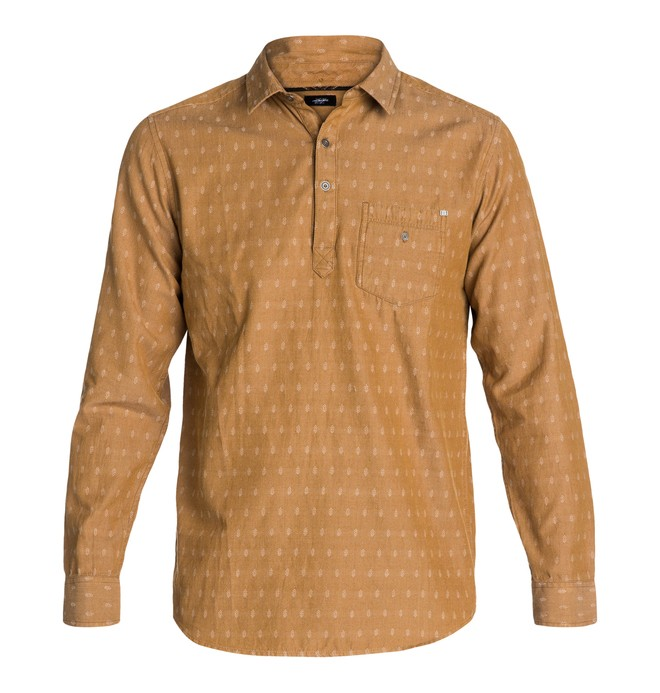 0 Arcane II Shirt Brown ADYWT03001 DC Shoes