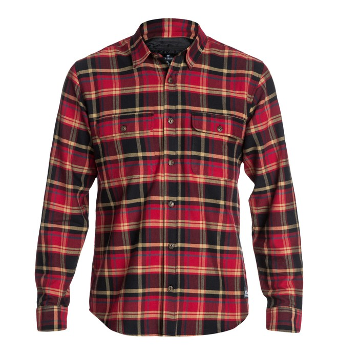 0 Men's Wes Lamper Long Sleeve Shirt  ADYWT03002 DC Shoes