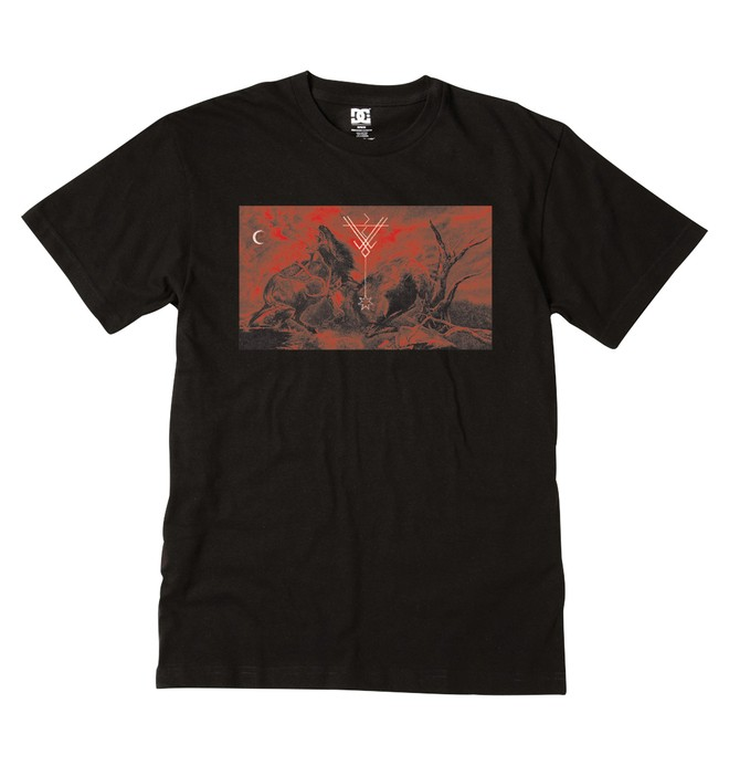 0 Men's Mating Rites Tee  ADYZT00044 DC Shoes