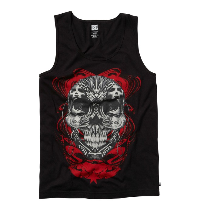 0 Men's Mudder TT Tank  ADYZT00073 DC Shoes