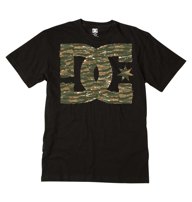 0 Men's Tiger Star Tee  ADYZT00154 DC Shoes