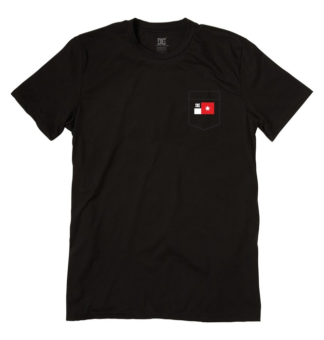 0 Men's Pocket Flag Tee  ADYZT00158 DC Shoes