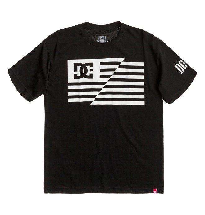 0 Men's Rob Dyrdek USA Flag Tee  ADYZT00269 DC Shoes