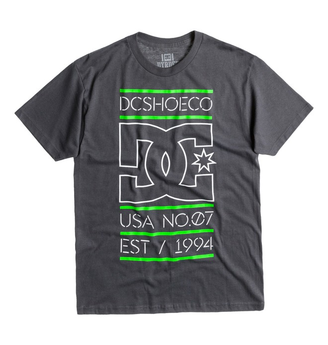 0 Men's Rob Dyrdek Highlight Stacked Tee  ADYZT00289 DC Shoes