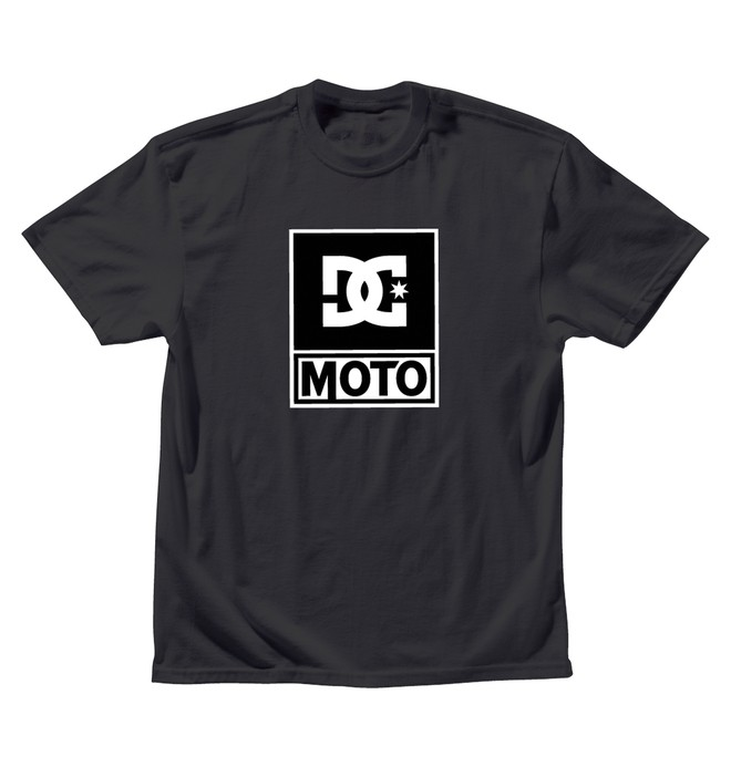0 Men's DC Moto Logo Tee  ADYZT00343 DC Shoes