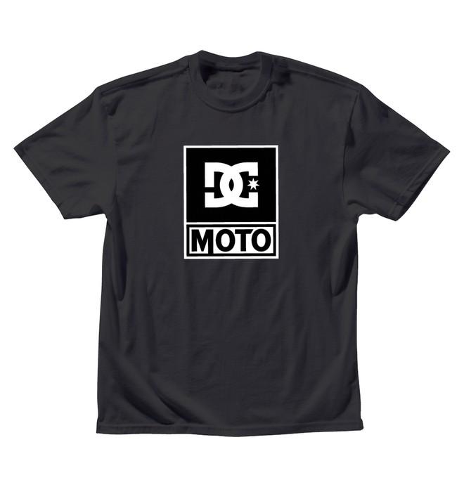 0 Men's DC Moto Logo Tee  ADYZT00343 DC Shoes