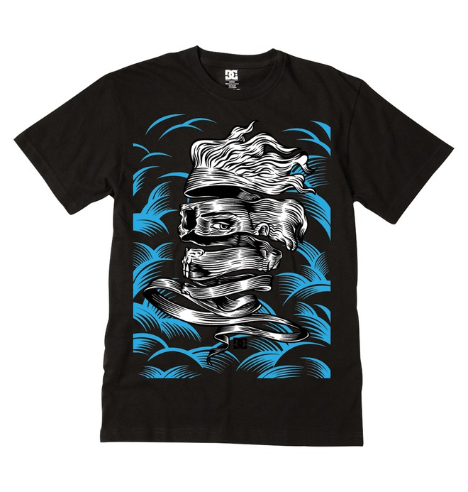 0 Men's Enigma Tee  ADYZT00389 DC Shoes