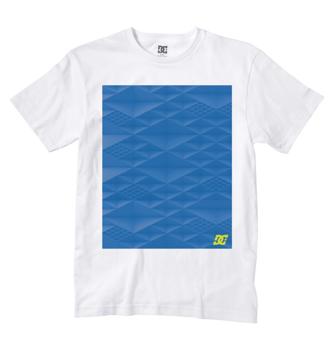 0 Men's All Bite Tee White ADYZT00423 DC Shoes