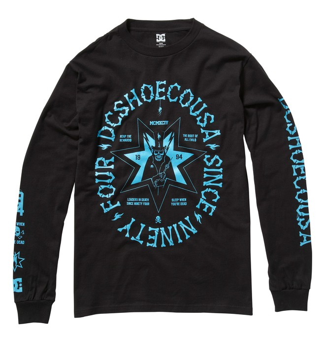 0 Men's Deathly Long Sleeve Shirt  ADYZT00432 DC Shoes