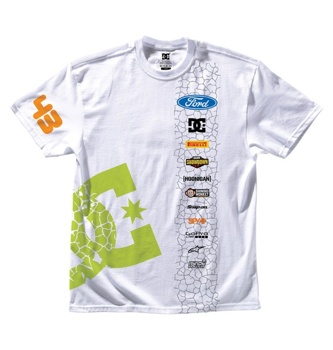 0 Men's Ken Block Sideswipe Tee  ADYZT00557 DC Shoes