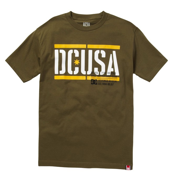 0 Men's Rob Dyrdek Stencil Tee  ADYZT00616 DC Shoes