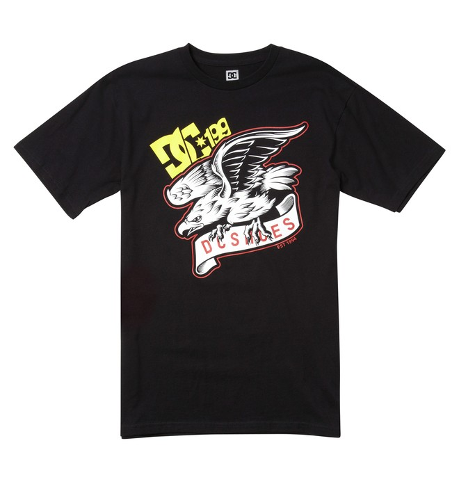 0 Men's Travis Pastrana Eagle Tee  ADYZT00911 DC Shoes