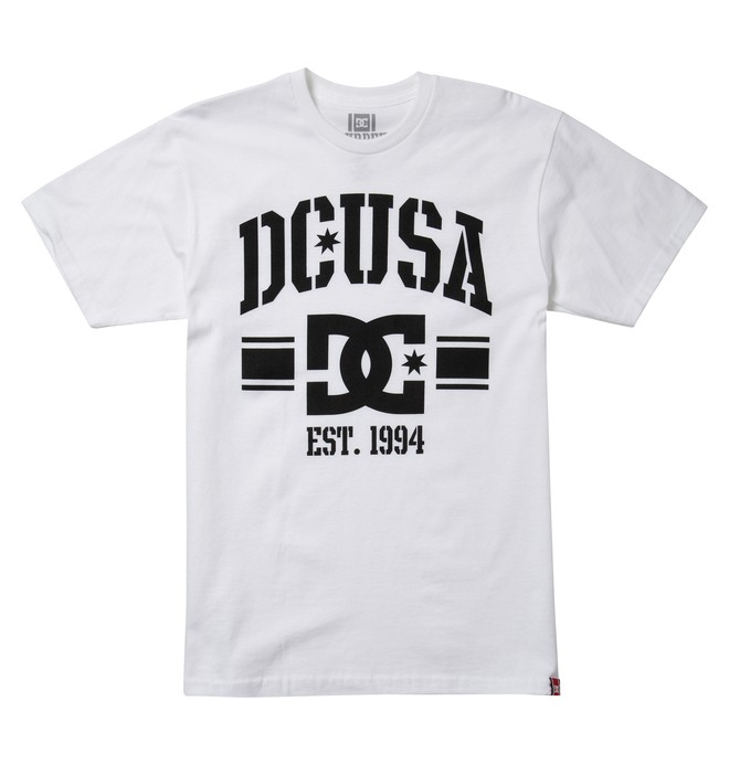 0 Men's Rob Dyrdek Alumni 2 Tee White ADYZT00921 DC Shoes