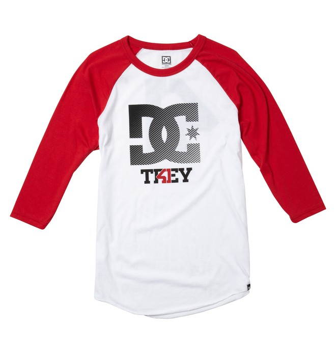 0 Men's Trey Canard Reglan Tee  ADYZT00924 DC Shoes