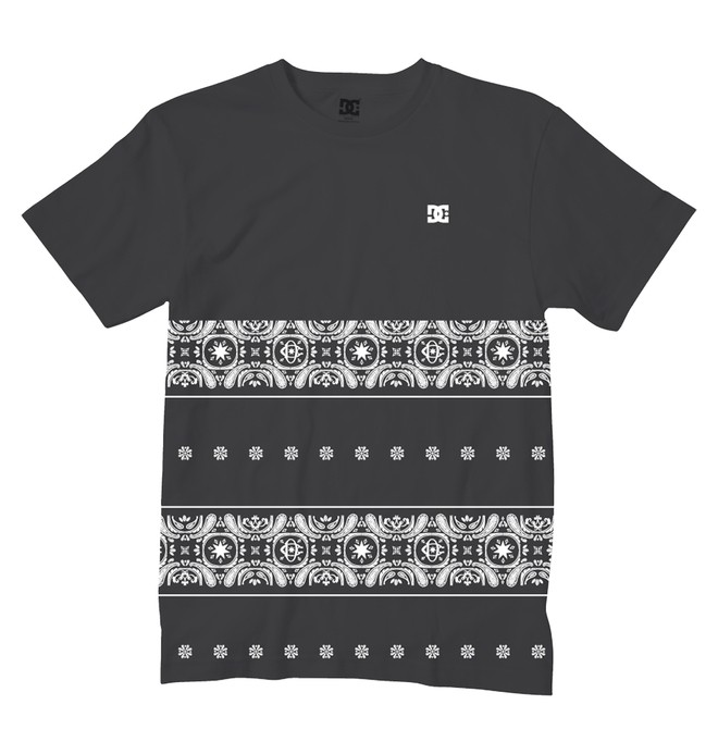 0 Men's Patterned Tee  ADYZT00988 DC Shoes