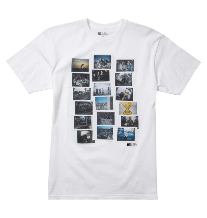 0 Men's Wes Kremer Momento Tee  ADYZT00996 DC Shoes