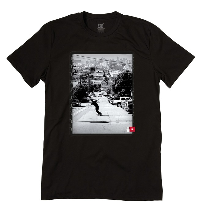 0 Men's Miller Tee  ADYZT01000 DC Shoes