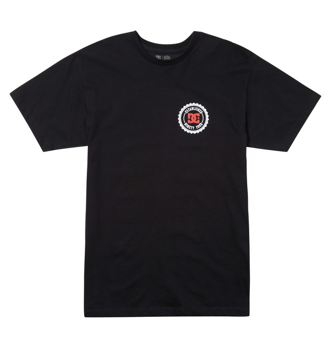 0 Men's Mike Mo Tee Black ADYZT01002 DC Shoes