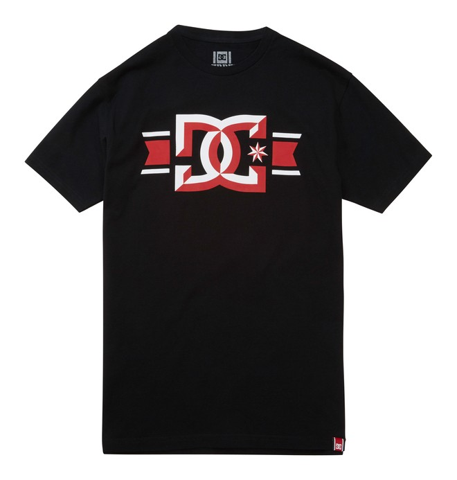 0 Men's Rob Dyrdek Banner Bevel Tee  ADYZT01212 DC Shoes