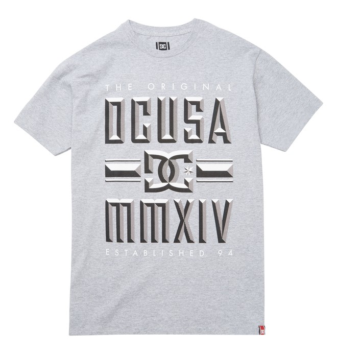 0 Men's Rob Dyrdek Bevel Tee  ADYZT01213 DC Shoes