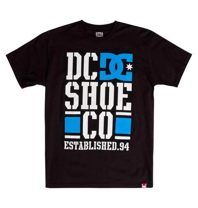 0 Men's Rob Dyrdek Covered Tee Black ADYZT01214 DC Shoes