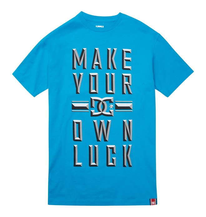 0 Men's Rob Dyrdek Lucky Bevel Tee  ADYZT01215 DC Shoes