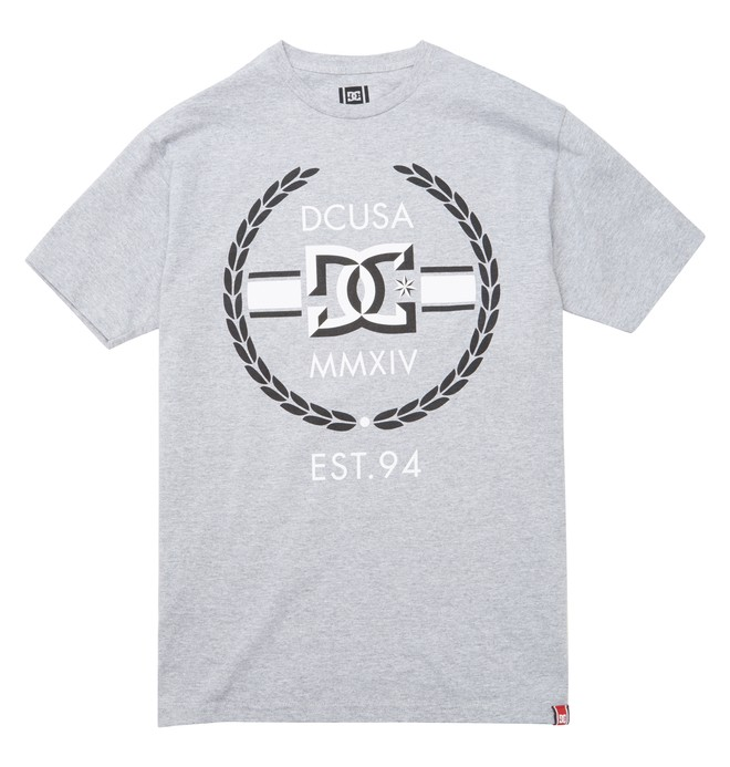 0 Men's Rob Dyrdek Wreath Bevel Tee  ADYZT01216 DC Shoes