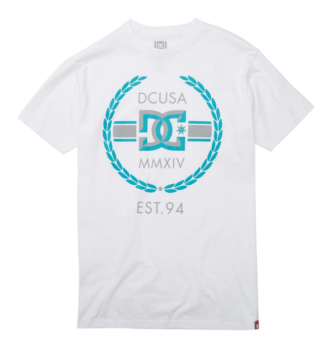 RD WREATH BEVEL TEE White ADYZT01216