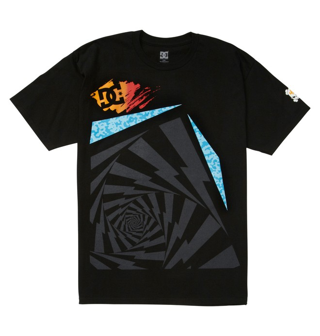 0 Men's Ken Block Spin Tee  ADYZT01301 DC Shoes