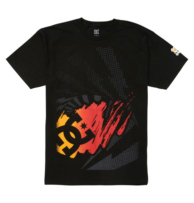 0 Men's Ken Block Half Tone Tee  ADYZT01302 DC Shoes