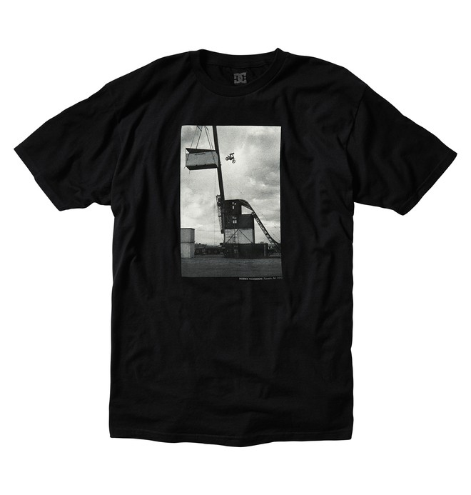 0 Men's Defcon Robbie Maddison  Tee  ADYZT01782 DC Shoes