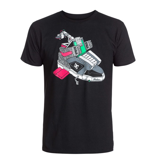 0 Ghica Ship 1 Tee  ADYZT03002 DC Shoes