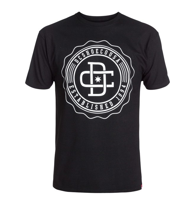 0 RD University Tee Black ADYZT03025 DC Shoes