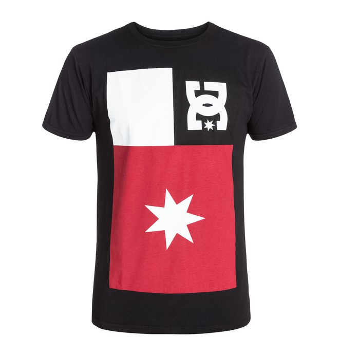 0 Men's Washed Flag Tee  ADYZT03049 DC Shoes