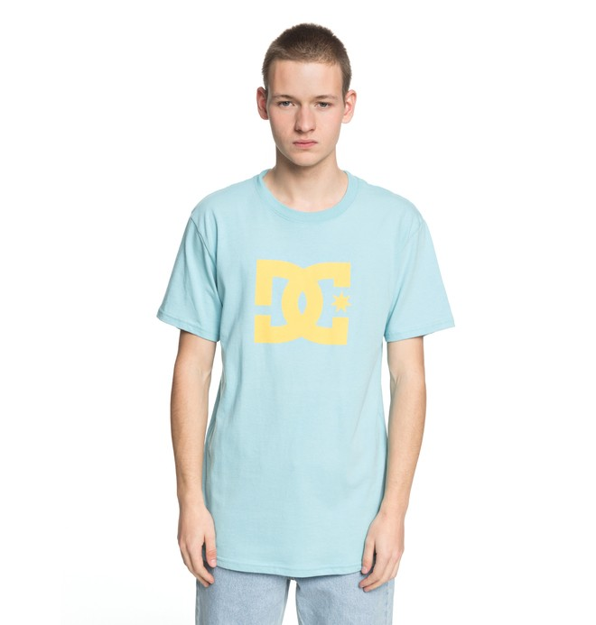0 Men's DC Star Tee Blue ADYZT03119 DC Shoes