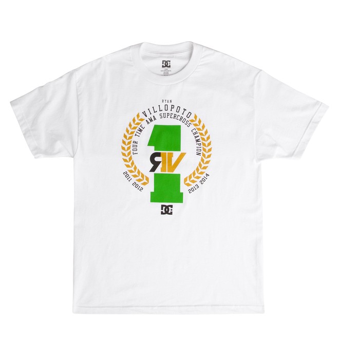 0 RV 4X CHAMP TEE  ADYZT03294 DC Shoes