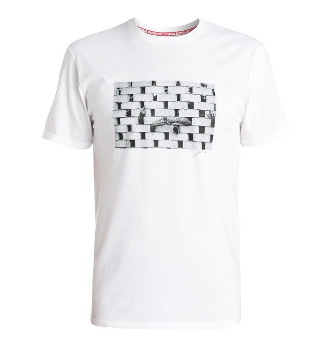 0 Men's Wes Peru Bricks Tee  ADYZT03402 DC Shoes