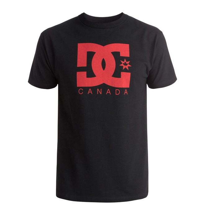 0 Men's Big Red Canada Tee  ADYZT03878 DC Shoes