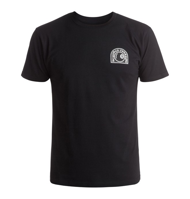 0 Chain Gang 8Ball - T-Shirt Black ADYZT03959 DC Shoes