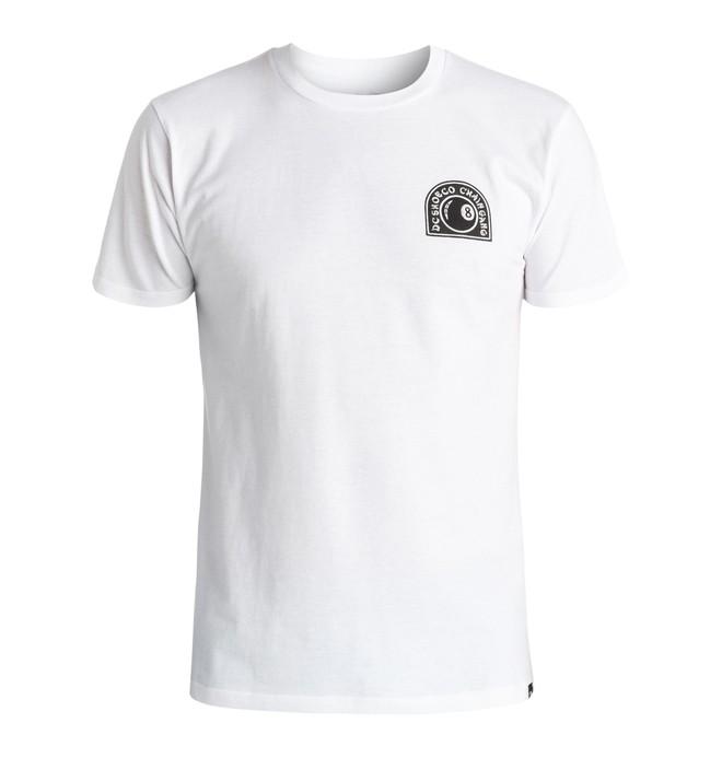 0 Chain Gang 8Ball - T-Shirt White ADYZT03959 DC Shoes