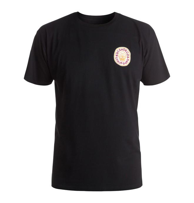 0 Chain Gang Skull - T-Shirt Black ADYZT03960 DC Shoes