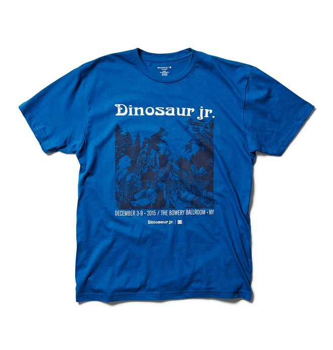 0 Dinosaur Jr. T-shirt  ADYZT03997 DC Shoes