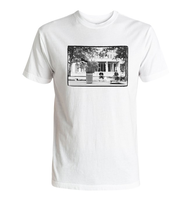 0 Slam City - Tee-Shirt Blanc ADYZT04080 DC Shoes