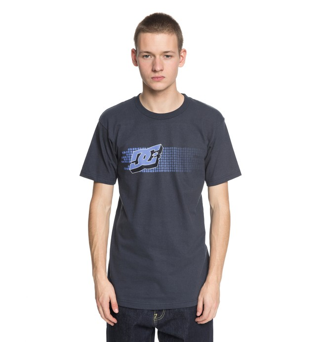 0 Men's Renewal Tee Blue ADYZT04217 DC Shoes