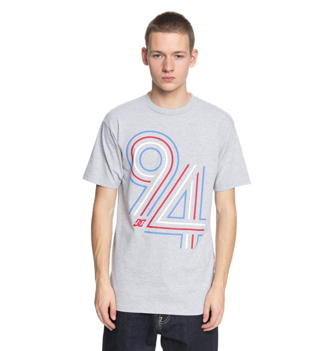 0 Men's Cycle Lines Tee Black ADYZT04219 DC Shoes