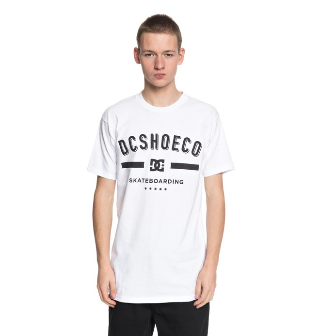 0 Men's Revelation Tee White ADYZT04224 DC Shoes